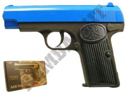 K17D Metal Airsoft BB Gun Black and Blue
